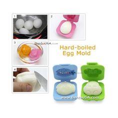 Japanese Bento Egg Moulds: Fish & Car