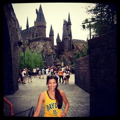 They say Brooks Hall's dining looks like Hogwarts... // #BaylorProud at The Wizarding World of Harry Potter! (via amygpagitt on Instagram) #BaylorEverywhere