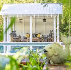 Saturday on Sullivan's. Wanna hang out here all the time? This backyard oasis (and the house in front) are currently for sale.  2118 Atlantic Avenue  treese@dunesproperties.com #sullivansisland #beachlife #islandlife #dunesproperties #charleston #charlestoncoast #lowcountry #weekend  #charlestonrealestate #chsrealestate #forsale #cabana #pool #backyard :@donniewhitaker