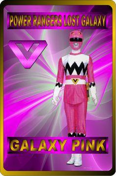 Galaxy Pink by RAatNYSBA on DeviantArt Galaxy Pink by rangeranime on Power Rangers Fan Art, Power Rangers Lost Galaxy, Power Rangers In Space, Pink Power Rangers, Pink Galaxy, Galaxy Art, Go Busters, Power Rengers, Cool Cards