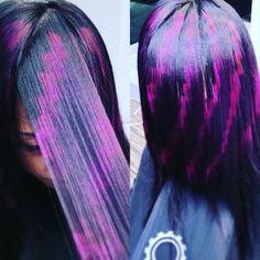 Instagram Fancy Hairstyles, Creative Hairstyles, Pixie Hairstyles, Weave Hairstyles, Hairstyle Ideas, Hair Stenciling, Pixie Hair Color, Jheri Curl, Birthday Hair