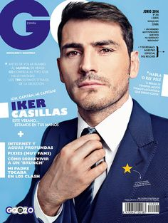 Iker Casillas Suits Up for GQ España Cover