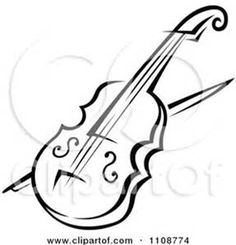 line art drawings musical instruments - Bing images