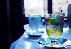 喫茶 ソワレ ハイカラなゼリーポンチ|京都をぶらりするでおざる