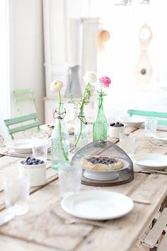 Mint wedding brunch inspiration