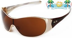 2c8b8b1a0e Details about NEW Womens Oakley Sunglasses BREATHLESS Polished Gold /  Bronze 30-887