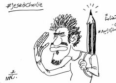 Cheb Makhlouf, Egypt - 12 Responses to Charlie Hebdo by Arab Comic Artists - §