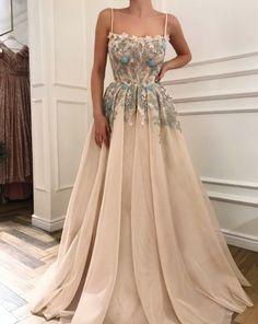 Prom Dresses Evening Dresses Long, Prom Dress A-Line, Prom Dress With Appliques A Line Prom Dresses, Homecoming Dresses, Dress Prom, Wedding Dresses, Summer Dresses, Prom Dresses Flowers, Bridal Gowns, Party Dress, Bridesmaid Dresses
