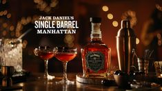 This holiday Manhattan took a pitstop in Tennessee. Made with a one-of-a-kind whiskey for a one-of-a-kind celebration. 2 oz Jack Daniel's Single Barrel 1/2 oz Sweet vermouth 1/2 oz Dry vermouth Cigars And Whiskey, Scotch Whiskey, Whiskey Bottle, Jack Daniels Single Barrel, Jack Daniel's Tennessee Whiskey, Women Smoking Cigars, Alcohol Drink Recipes, Alcoholic Drinks, Beverages