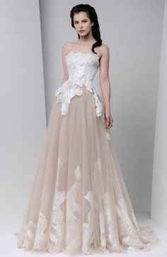 Glamorous Wedding Dresses with Couture Details | Tony Ward, Glamorous Wedding Dresses and Couture Details