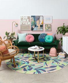 Casa solar, home living room, living room decor on a budget, living room in Living Room Green, Living Room Furniture, Interior, Room Decor, Living Room Decor, Home Decor, Room Inspiration, Apartment Decor, Home Living Room