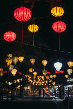 Lanterns at night in Hoi An, Vietnam Hanoi Vietnam, Vietnam Travel, Asia Travel, Laos, Hoi An, Beautiful Vietnam, Vietnam Voyage, Lantern Festival, Decoration Inspiration