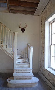 Old Farm House Stairs