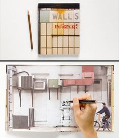 Very interesting and creative notebook design.
