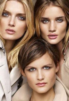Naturalny makijaż w stylu Burberry!