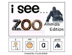 I see Zoo Animals Edition. Perfect to expand MLU, Speech, Autism