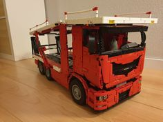 Wanted to build a transporter truck for the Porsche's of P… | Flickr