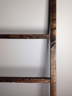 Rustic Wood Ladder perfect to hold your throw blankets, magazines, towels,scarfs, outdoor holiday display and so much more  Measurements 48Tall x