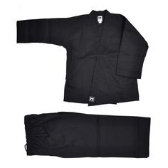 TKD Wrap Uniform Black Open Top Dobok Suits Stripe Traditional Taekowndo TKD MMA