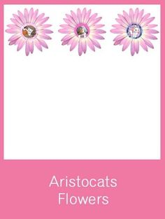 Aristocats Flowers - FREE PDF Download