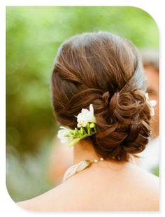 wedding hair minus the flower