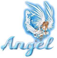 The Name Angel In Glitter