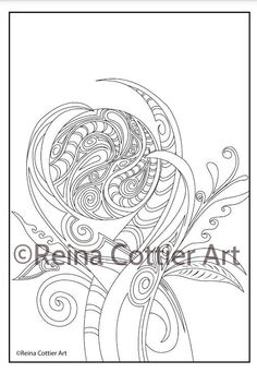 colouring book reina cottier art view or buy here https