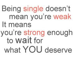 quotes about Single Life