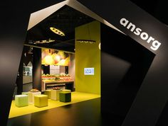 #5 - 25 Eye Catching Trade Show Stands - Ansorg #Events #EvenProfs #Design #Architecture