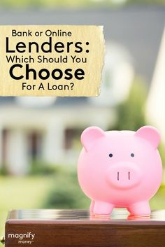 Banks aren't the only option for personal and small business loans anymore. Startup, online lenders fill an interesting gap in the lending market. Fast Cash Loans, Paying Off Credit Cards, Mortgage Calculator, Borrow Money, Get Out Of Debt, Payday Loans, Debt Payoff, Credit Score, Piggy Bank