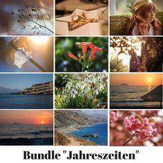 Fotobundle für Blogger - 20 Fotos zum Thema Jahreszeiten. Bereits optimiert für Web