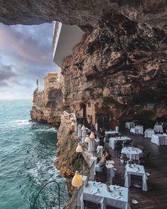 Life Magazine, Santorini, Bar Restaurant Design, Mexican Restaurant Decor, Restaurant Uniforms, Restaurant Restaurant, Travel Around The World, Around The Worlds, Unique Hotels