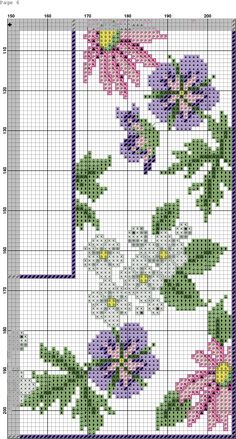 This Pin was discovered by zeh Cross Stitch Rose, Cross Stitch Flowers, Cross Stitch Embroidery, Hand Embroidery, Cross Stitch Designs, Cross Stitch Patterns, Crochet Patterns, Rico Design, Easter Cross