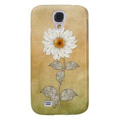 Vintage Sunflower on Pastel Gradient GalaxyS4 #sunflowers #vintage #galaxyS4cases