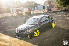 Mazda3 BK Mazda Mps, Mazda 3 Speed, Mazda 3 Hatchback, 3 Brothers, Car Goals, Evo, Dream Cars, Race Cars, Racing
