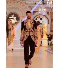 Arsalan Iqbal at Pantene Bridal Couture Week 2013