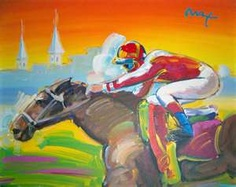 Painting Classes, Thoroughbred Horse, Wbc, Horse Racing, Art And Architecture, Traditional Art, Painting Inspiration, New Art, Cool Art