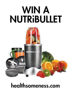 Open to: United States Ending on: 03/31/2015 As a way of saying thank you to our readers, we are giving away a NutriBullet. This will help you make delicious & healthy smoothies quickly! Enter this Giveaway at Healthsomeness