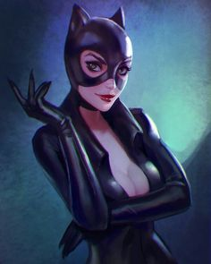 Catwoman! By Christopher Stansfield and Anna Maystrenko  #catwoman #selinakyle #dccomics by dccomicswomen