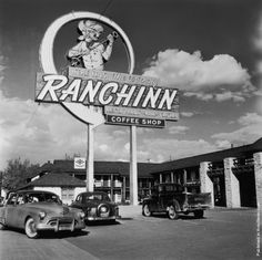Ranchinn Casino April 1952 sign goes up You can find chips from here at www.all-chips.com
