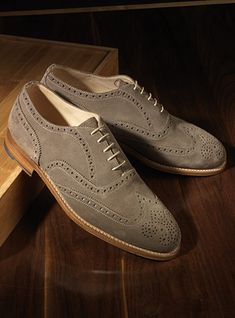 The Fayetteville Oxford in Tan Suede 96bef28e409