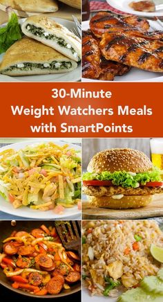 30-Minute Weight Watcher Meals With SmartPoints – The Dish by KitchMe