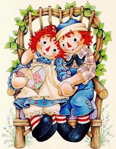 Raggedy Ann & Andy <3
