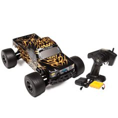 Refurbished Number One Gold 2.4GHz 1:18 RTR Electric RC Truck