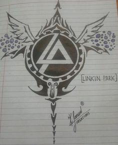 Linkin Park drawings | Logo Art For Linkin Park - Design | Zubin Samuel | Touchtalent