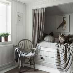 Nils grey is a new striped wallpaper with a textile expression. The wallpaper is inspired by linen towels and adds a country styled atmosphere. Striped Wallpaper, Nursery Inspiration, Inspiration, Wallpaper, Room Inspiration, Kids Room Inspiration, Interior Design, Home Decor, Linen Towels