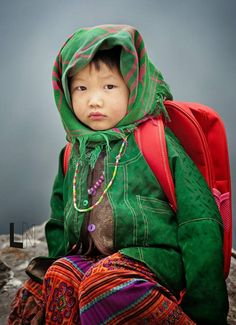 Child from Ha Giang, Hagiang, Việt Nam Precious Children, Beautiful Children, Beautiful Babies, Beautiful People, Kids Around The World, We Are The World, People Around The World, Photo Portrait, Child Face