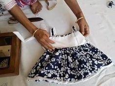New dress pattern baby ideas Ideas Baby Frock Pattern, New Dress Pattern, Frock Patterns, Baby Dress Patterns, Knitting Patterns, Baby Dress Tutorials, Baby Girl Frocks, Frocks For Girls, Baby Outfits