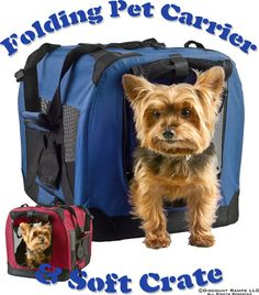 Dog Carriers And Soft Pet Carrier Crate