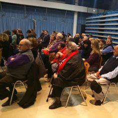 Réunion de présentation du projet aux habitants des Trois-Cités